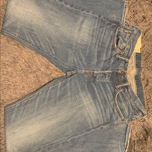 Well Worn Abercrombie And Fitch Vintage DAD Jeans